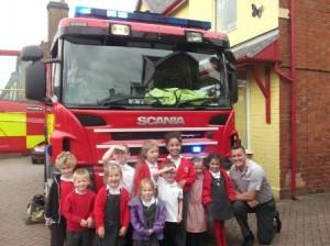 Fire Brigade visit 1