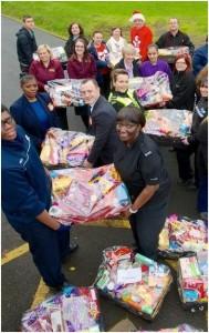 festive donations