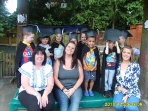 Leavers Graduation at Bright Kids Northfield