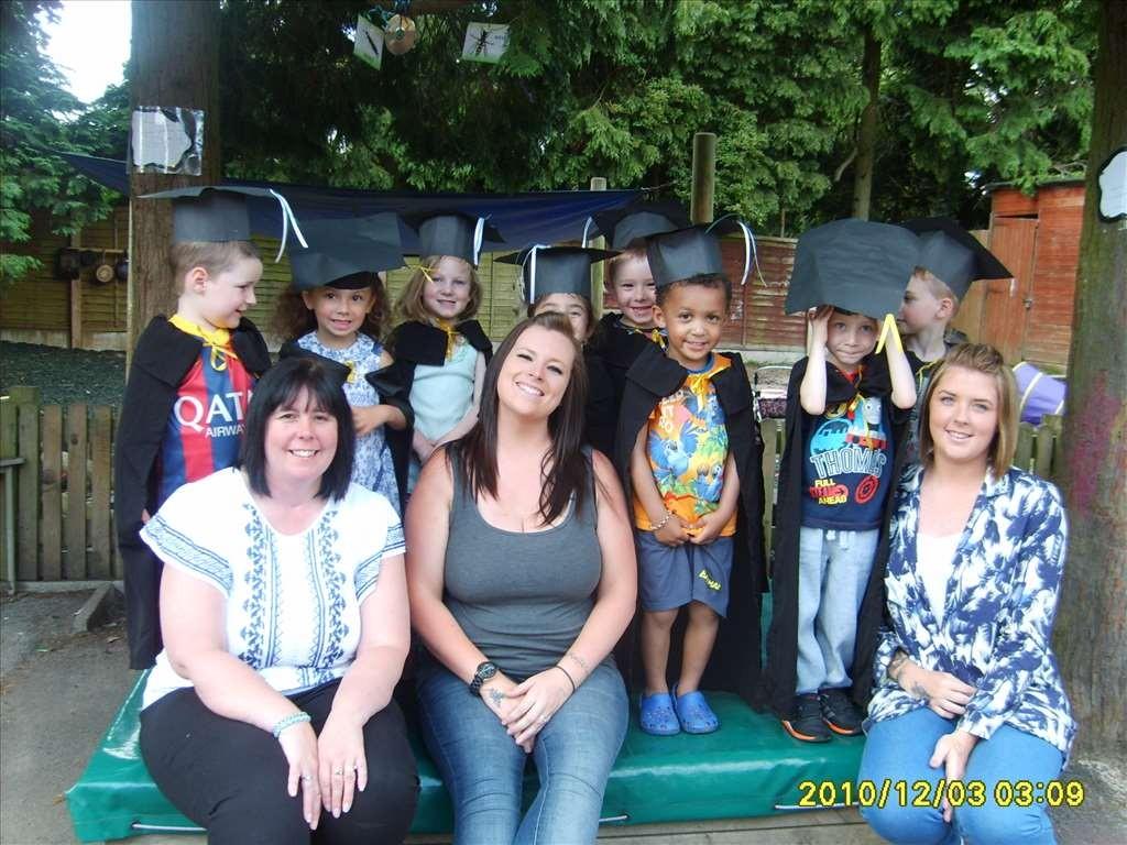 Leavers Graduation at Bright Kids Northfield