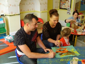Art & Craft Morning at Bright Kids Northfield