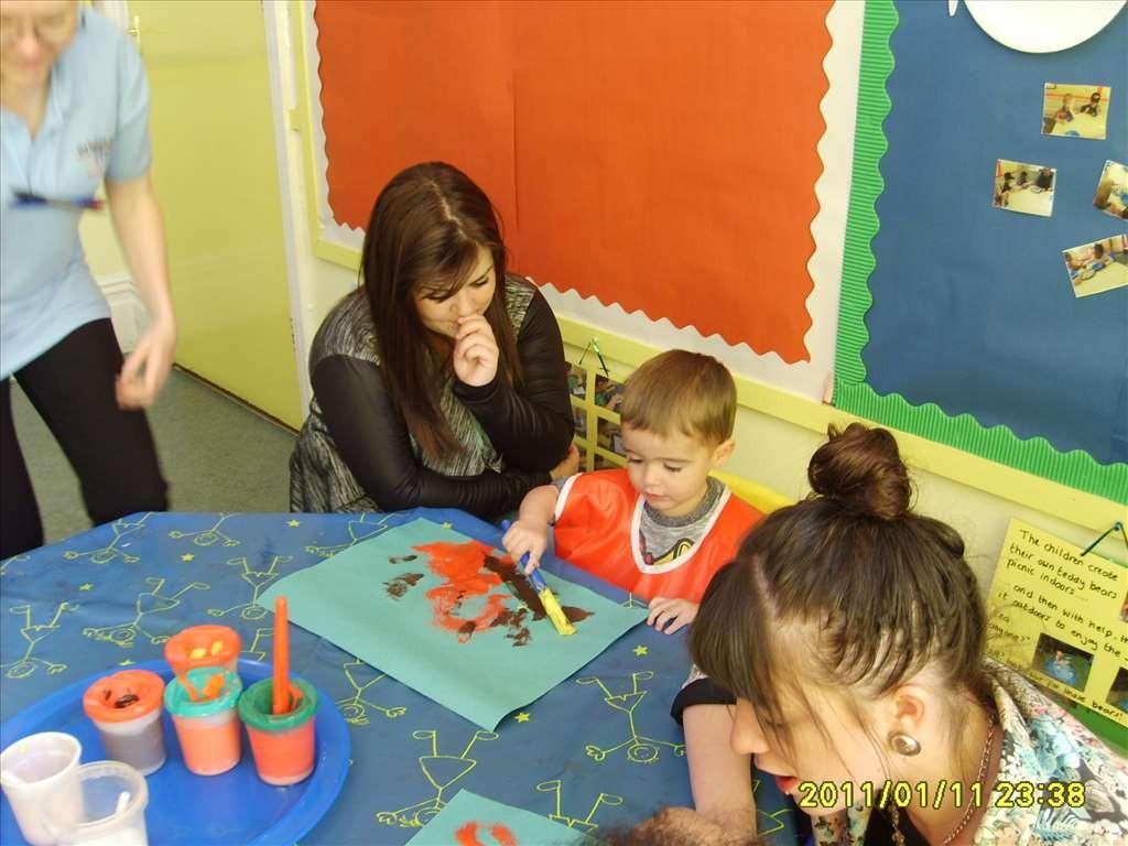 Art & Craft Morning at Bright Kids Northfield