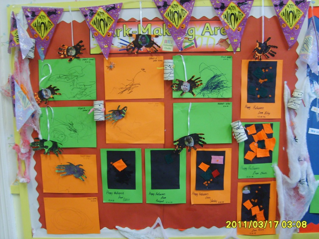 Halloween Display at BK Northfield