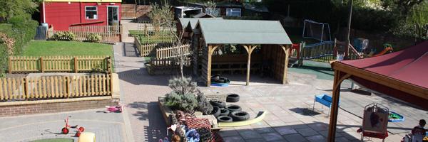 Studley garden rear