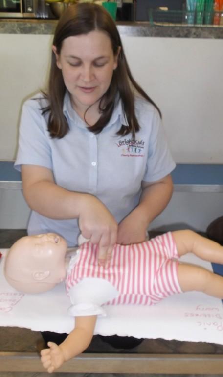 First Aid training Gemma Rea