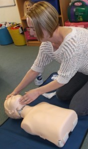 First Aid training Lisa Lynch