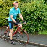 Studley dad puts pedal to the metal for cancer charity