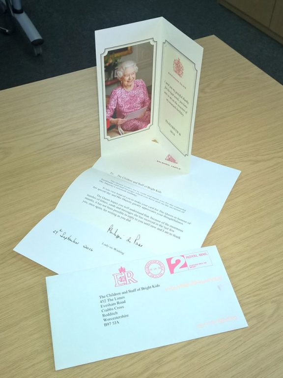 letter from queen