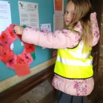 Special wreath for St Laurence Church