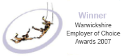 Warwickshire Employer of Choice Award Winner 2007